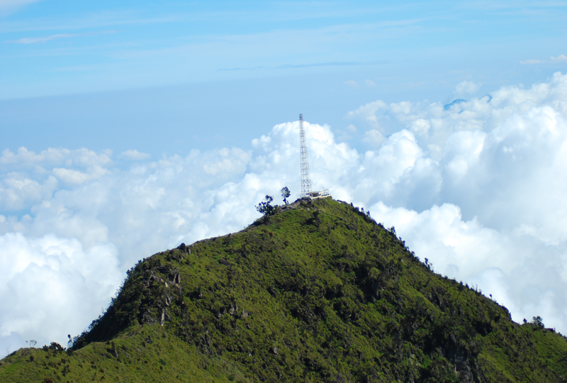 antena tower merbabu