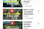 channel youtube info pendaki gunung